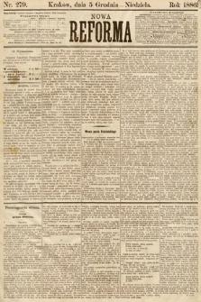 Nowa Reforma. 1886, nr279