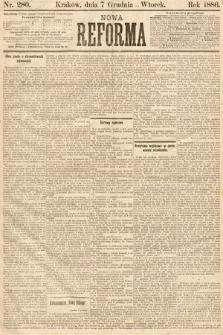 Nowa Reforma. 1886, nr280