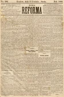Nowa Reforma. 1886, nr281