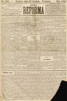 Nowa Reforma. 1886, nr284