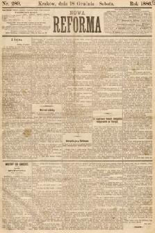 Nowa Reforma. 1886, nr289