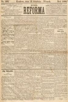 Nowa Reforma. 1886, nr291
