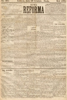 Nowa Reforma. 1886, nr292