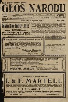 Głos Narodu. 1925, nr2