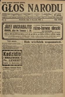 Głos Narodu. 1925, nr3