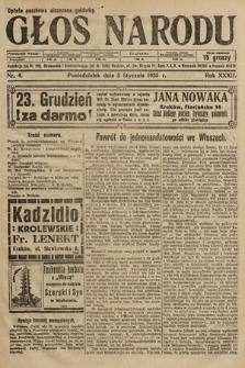 Głos Narodu. 1925, nr4