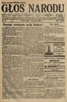 Głos Narodu. 1925, nr5
