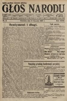 Głos Narodu. 1925, nr8
