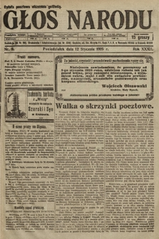 Głos Narodu. 1925, nr9