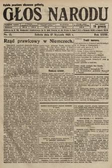Głos Narodu. 1925, nr13