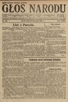 Głos Narodu. 1925, nr16