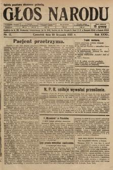 Głos Narodu. 1925, nr17