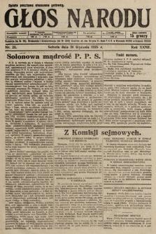 Głos Narodu. 1925, nr25