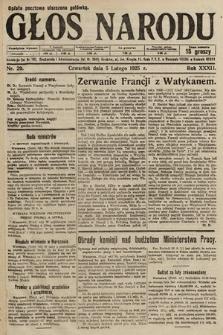 Głos Narodu. 1925, nr29