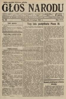 Głos Narodu. 1925, nr36