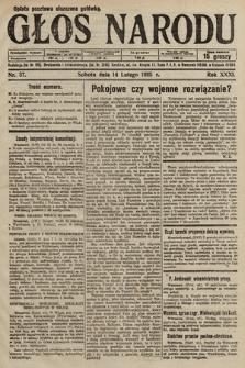 Głos Narodu. 1925, nr37