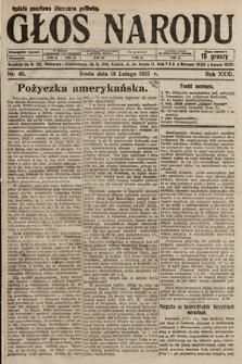 Głos Narodu. 1925, nr40
