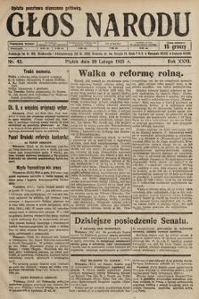 Głos Narodu. 1925, nr42