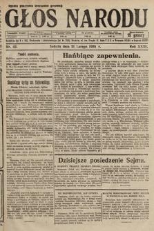Głos Narodu. 1925, nr43