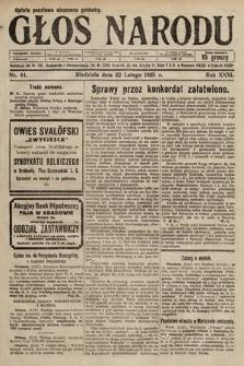 Głos Narodu. 1925, nr44