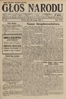 Głos Narodu. 1925, nr49