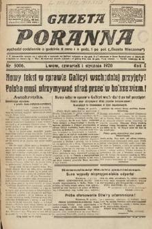 Gazeta Poranna. 1920, nr5006
