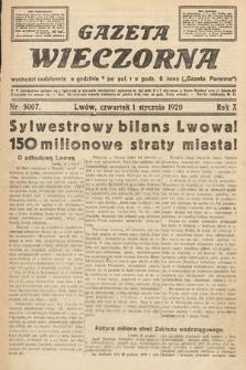 Gazeta Wieczorna. 1920, nr5007