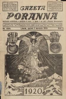 Gazeta Poranna. 1920, nr5008