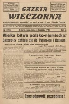 Gazeta Wieczorna. 1920, nr5012