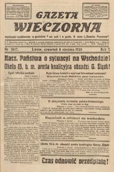 Gazeta Wieczorna. 1920, nr5017