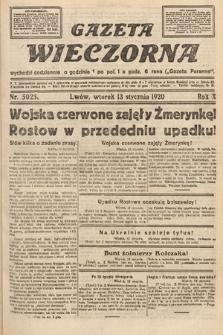 Gazeta Wieczorna. 1920, nr5025