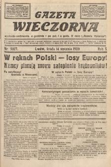 Gazeta Wieczorna. 1920, nr5027