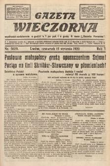 Gazeta Wieczorna. 1920, nr5029
