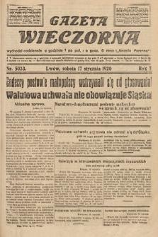 Gazeta Wieczorna. 1920, nr5033