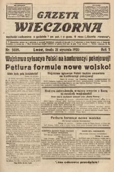 Gazeta Wieczorna. 1920, nr5039