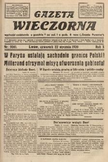 Gazeta Wieczorna. 1920, nr5041