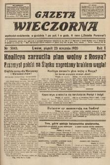 Gazeta Wieczorna. 1920, nr5043