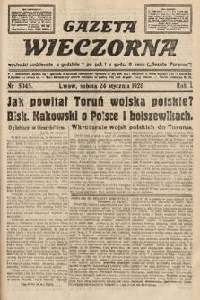 Gazeta Wieczorna. 1920, nr5045