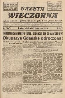 Gazeta Wieczorna. 1920, nr5047