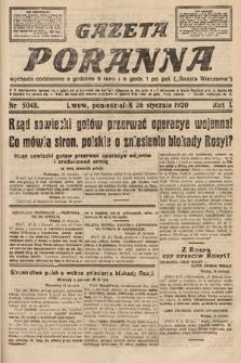 Gazeta Poranna. 1920, nr5048