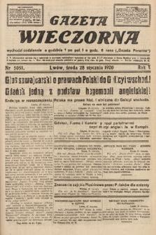 Gazeta Wieczorna. 1920, nr5051