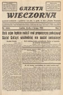 Gazeta Wieczorna. 1920, nr5062