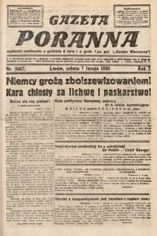 Gazeta Poranna. 1920, nr5067