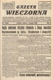 Gazeta Wieczorna. 1920, nr5068