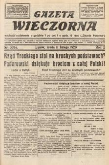 Gazeta Wieczorna. 1920, nr5074
