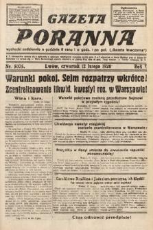 Gazeta Poranna. 1920, nr5075