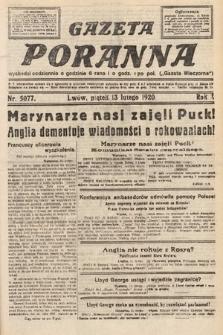 Gazeta Poranna. 1920, nr5077