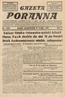 Gazeta Poranna. 1920, nr5083