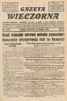 Gazeta Wieczorna. 1920, nr5088