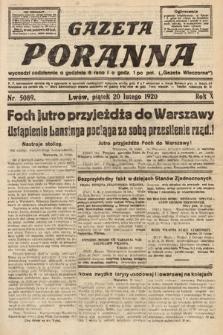 Gazeta Poranna. 1920, nr5089